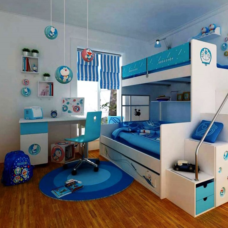 Cartoon Bedroom Design