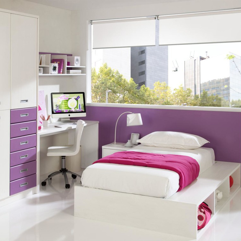Purple Kids' Bedroom
